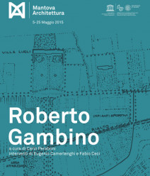 Seminar in the Bibiena Theatre - Roberto Gambino. The time of the landscape and the human times