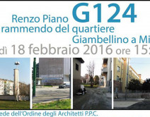 Renzo Piano G124 - Mending of the Giambellino district in Milan